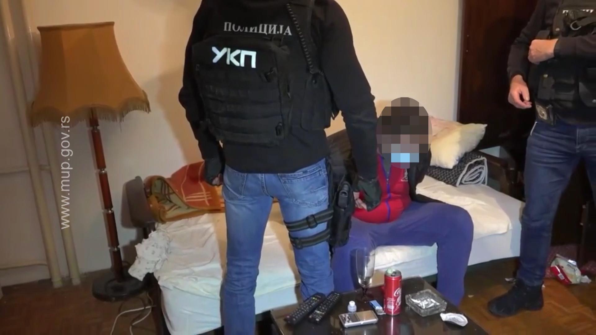 AKCIJA POLICIJE: Evo kako su uhapšeni dileri u Beogradu