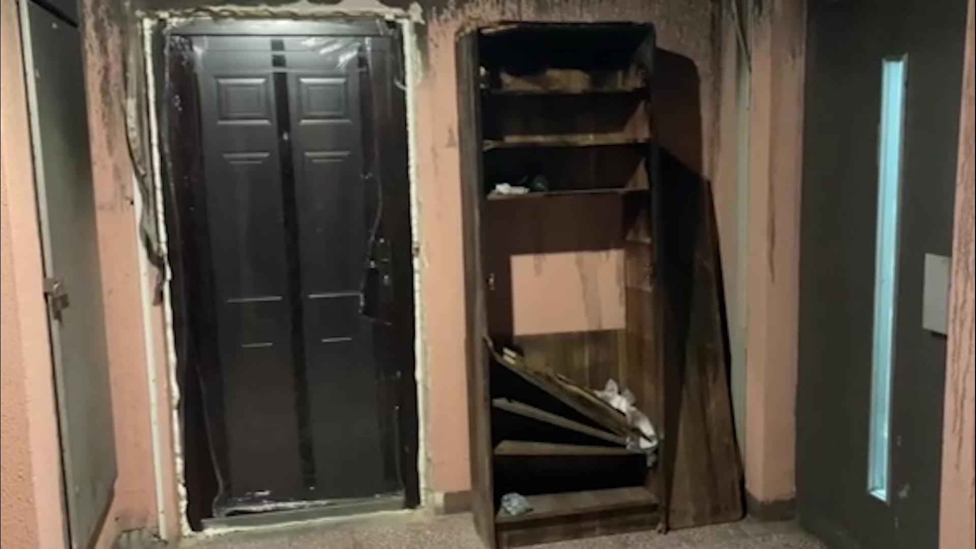 TUGA NA DORĆOLU: Renoviraju stan koji se zapalio, mala Minja izgubila bitku