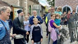 PATRIJARH POSETIO ZOOLOŠKI VRT: Sa decom iz Gline u Beogradu