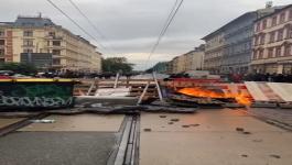 """NEREDI U NEMAČKOJ: Sukob policije i pripadnika """"Antife"""""""