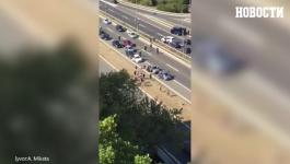 HAOS KOD GENEKS KULE: Tuča na auto-putu, policija privela više lica