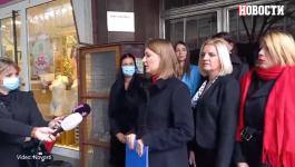 PITANjA ZA MARINIKU TEPIĆ: Poslanica Biljana Pantić Pilja održala  konferenciju ispred SSP