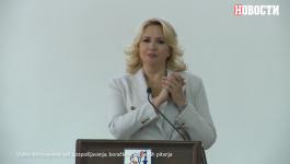 Ministarka Darija čestita na znakovnom jeziku Dan gluvonemih