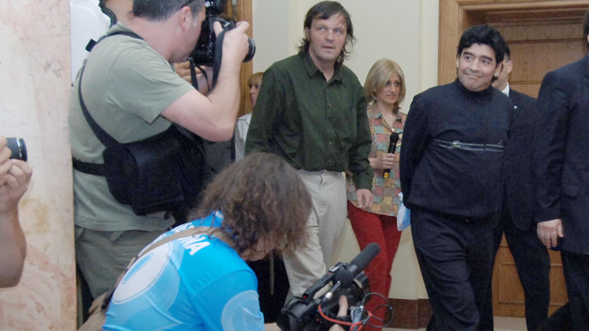 MOJE SRCE JE UZ SRBIJU: Maradona je obožavao naš narod i zemlju