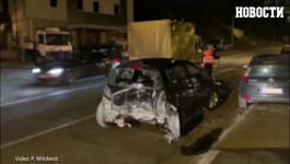 Saobraćajna nesreća na smederevskom putu