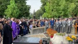 Govor Bode Ninkovića na sahrani Nenada Nenadovića