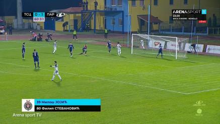 Pogledajte drugi gol Partizana