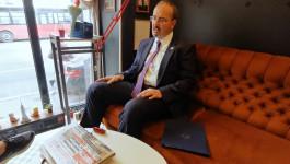 """Ekskluzivno u """"Novostima"""": Na ručku sa američkim ambasadorom u Srbiji Entonijem Godfrijem"""