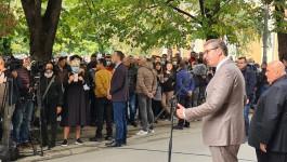 VUČIĆ U JAGODINI: Obećanje predsednika Jagodincima