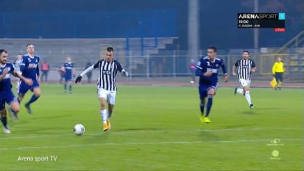 Pogledajte treći  gol Partizana