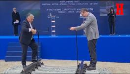 POČETAK RADOVA NA REKONSTRUKCIJI PRUGE: Vučić i Orban na ceremoniji na Horgošu