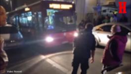KOLAPS NA VRAČARU: Autobus 26 napravio zastoj