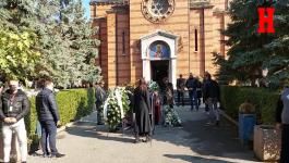 Dragan Bjelogrlić na ispraćaju Marka Živića