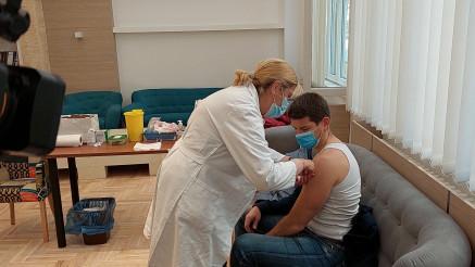 Vakcinacija na Ekonomskom fakultetu u Beogradu