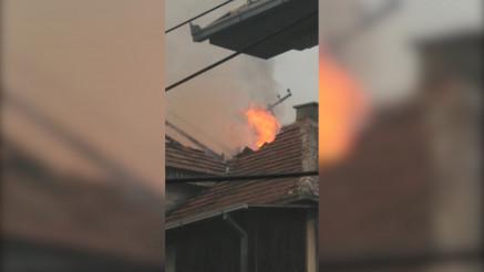 VATRA I KRICI: Borba sa požarom u pribojskom naselju Čitluk