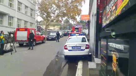 EKSPLOZIJA U CENTRU BEOGRADA: Jedna osoba poginula, hitne službe na terenu