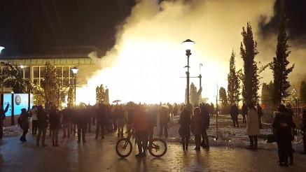 Vatromet kod Hrama za Pravoslavnu Novu godinu
