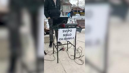Humanitarna akcija u Nikšiću za lečenje Danila Golubovića