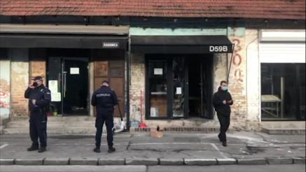 Bačena bomba na kafić u Dobračinoj