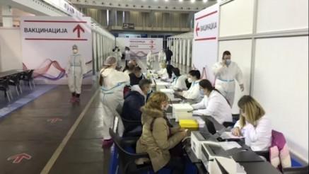 VAKCINACIJA protiv korona virusa na Beogradskom sajmu
