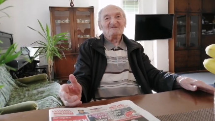 Najstariji stanovnik Srbije Marko o vakcini ishrani i životu