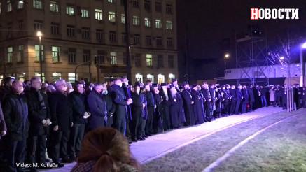 Vučić, Dodik i zvanice čekaju početak ceremonije