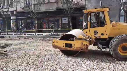 RADOVI U KRALJA MILANA: Cev popravljena, sprema se asfaltiranje