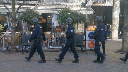 """PRETRES """"KASINE"""": Na Terazije stigle nove policijske snage"""