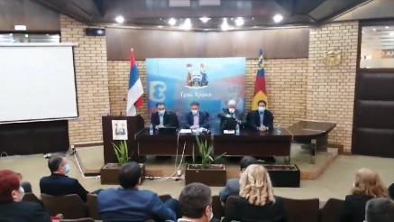 Sastanak specijalnog tima u Vranju povodom loše epidemiološke situacije u gradu