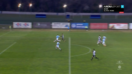 Partizan postigao dva gola protiv Rada