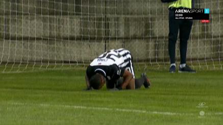 Suma za četvrti gol Partizana