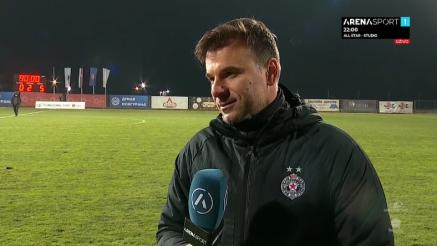 Izjava Stanojevića posle utakmice sa Radom