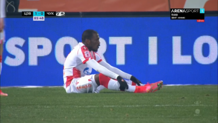 Penal pa drugi gol za Crvenu zvezdu