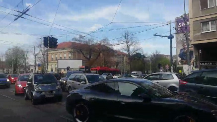 Saobraćajna gužva u Beogradu