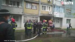 EVAKUISANA I BEBA IZ ZAPALJENOG SOLITERA: Vatrogasci sproveli uspešnu akciju