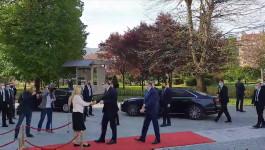 Predsednik Srbije stigao u Palatu Predsednika Republike Srpske