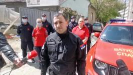 BOMBA NA BANOVOM BRDU - Luka Čaušić sektora za vanredne situacije o nadjenoj bombi
