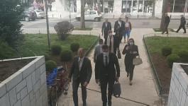 Marko Kovačević stigao na konstitutivnu sednicu parlamenta u Nikšiću