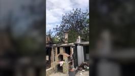 POŽAR U KNIĆANINU KOD ZRENJANINA: Izgorela kuća porodice Nikolić