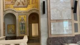 HRAM SVETOG SAVE: Postavljeni mozaici sa likom blaženopočivšeg patrijarha Irineja