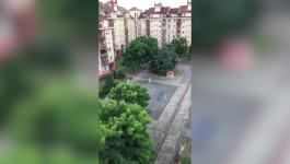 Grad na Novom Beogradu: Jako nevreme pogodilo prestonicu