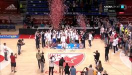 SLAVLJE: Crvena zvezda šampion Srbije u košarci