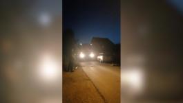Mesto nesreće u Surčinu