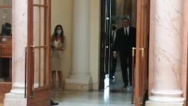 Predsednik Vučić stigao u Dom Narodne skupštine