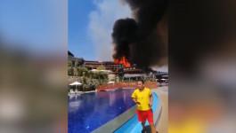 "VELIKI POŽAR U ANTALIJI: Vatra se širi ka hotelima, i ""Titanik"" u opasnosti"