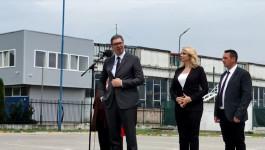 Govor Aleksandra Vučića u Vladičinom Hanu